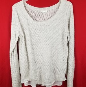 Women's Maurices Beige Sweater Size L
